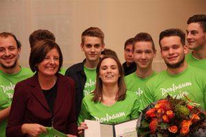 Ausgezeichnet: Mit Ministerpräsidentin Malu Dreyer. Fotos: Schenk
