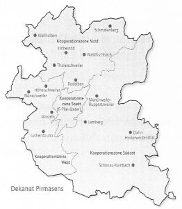 Karte der RegioZonen. Skizze: Martin Rathke