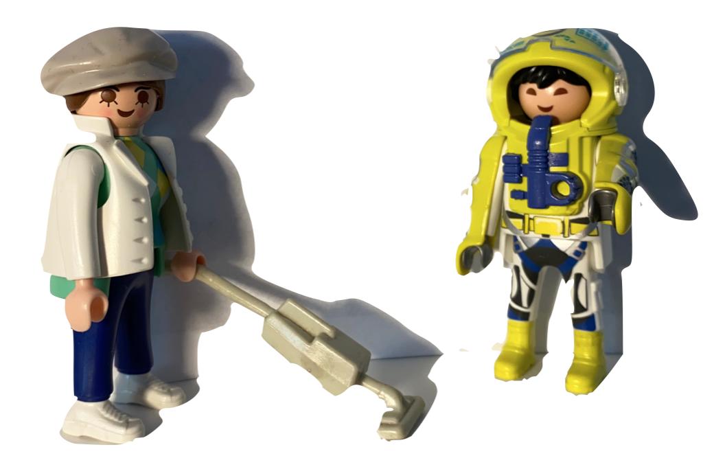 Raumpfleger & Raumfahrer