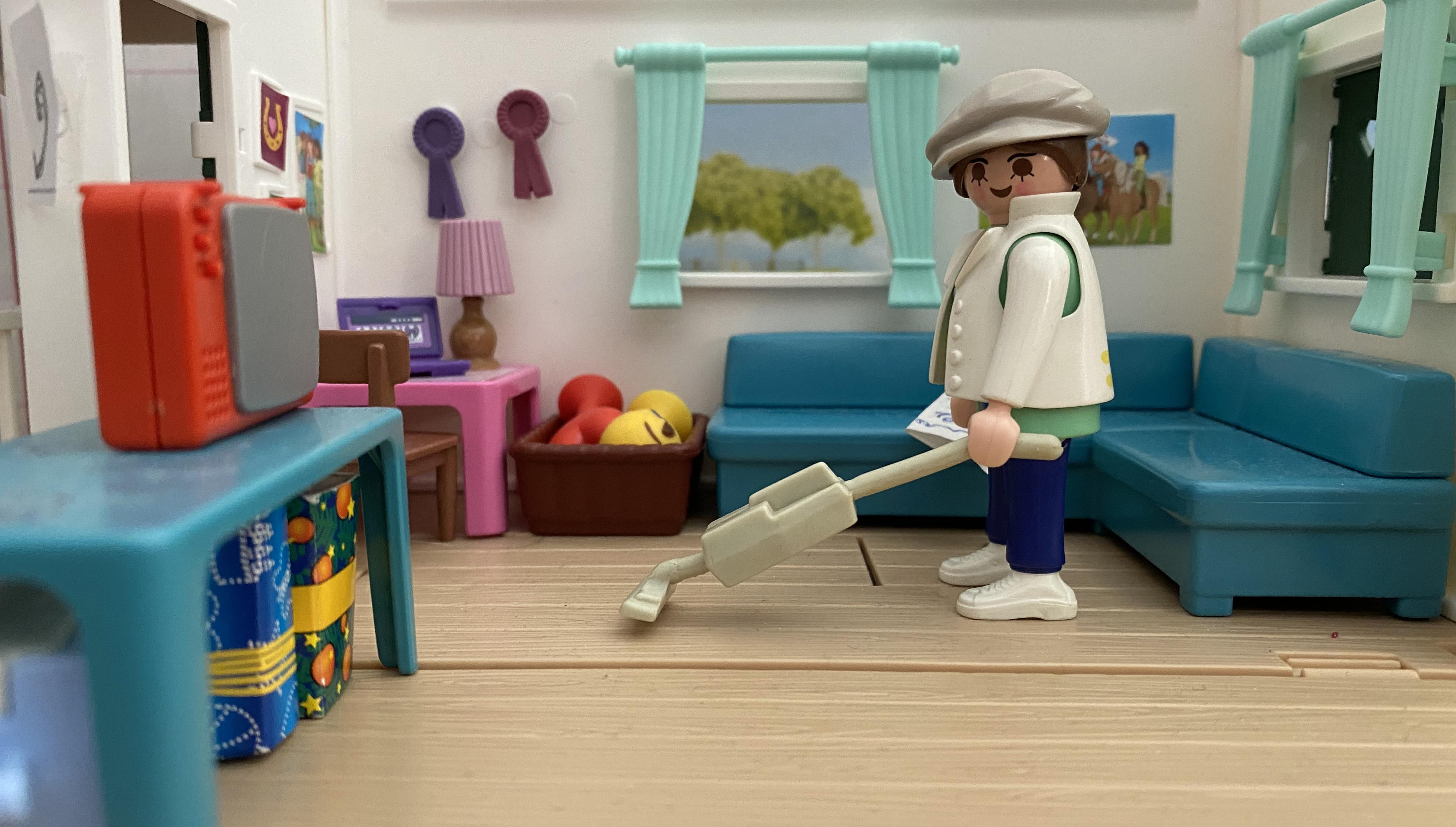 Playmobil Raumpflege