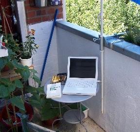 Büro in Balkonien